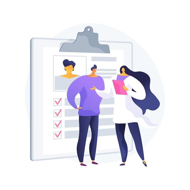 プライベートヘルスケア抽象的な概念ベクトルイラスト。民間医療、医療保険、有料医療サービス、ヘルスセンター、専門家によるコンサルティング、診療施設の抽象的な比喩。 無料ベクター