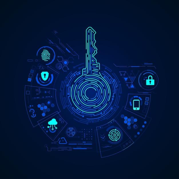 Закрытый ключ Premium векторы