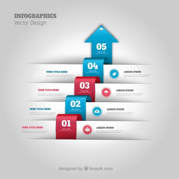 process flow infographic