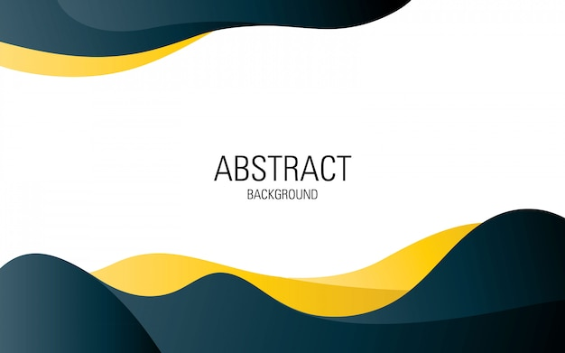Premium Vector Professional Abstract Background Template Design