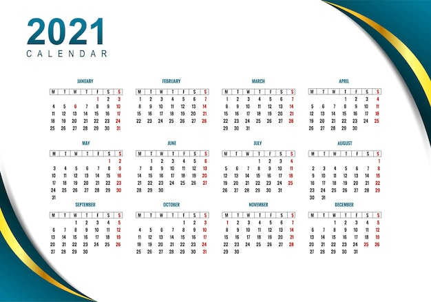 Photos of 2021 Business Calendar