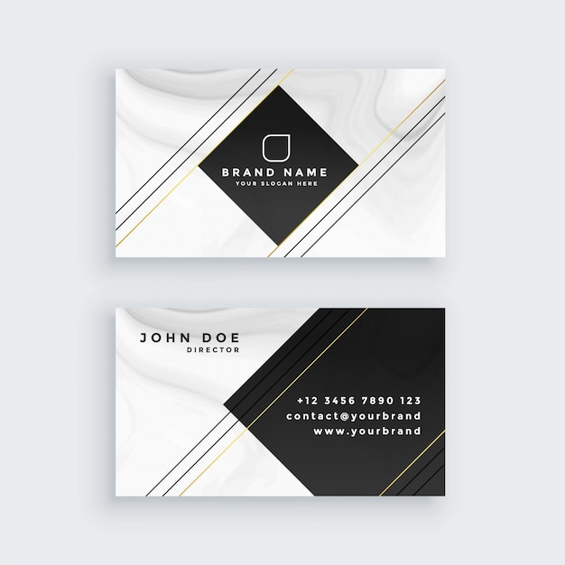 Professional business card design template vector free download professional business card design template free vector flashek Choice Image