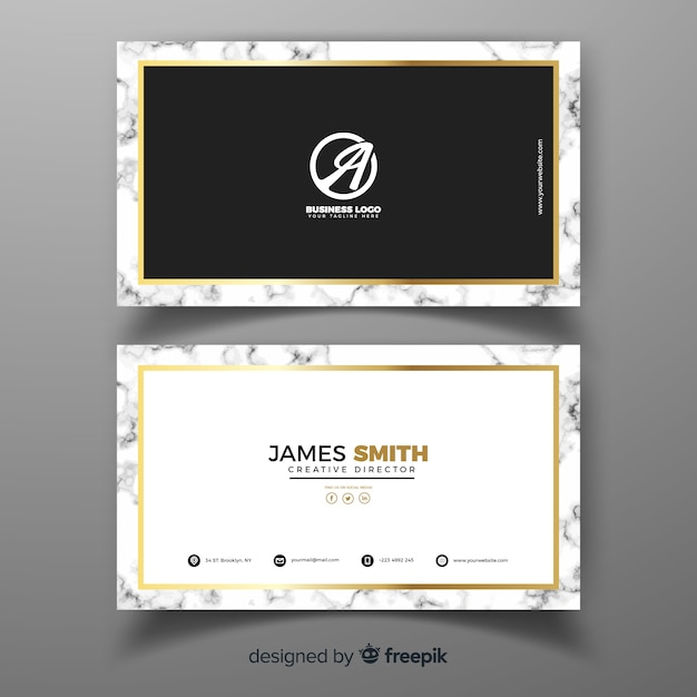 Professional business card template in elegant design vector free professional business card template in elegant design free vector accmission Images