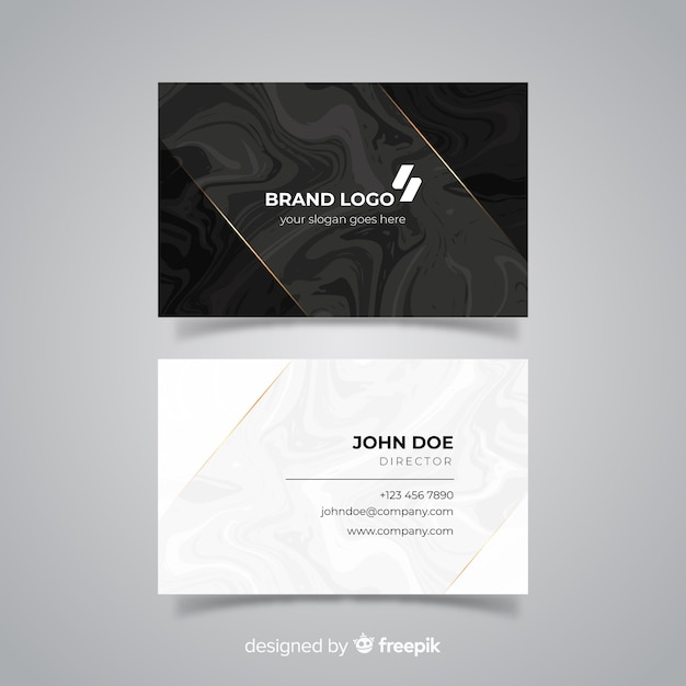 Professional business card template with elegance vector free download professional business card template with elegance free vector friedricerecipe Choice Image
