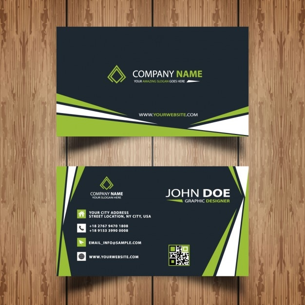 Professional business card template vector free download for Professional business card templates free