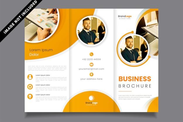 Профессиональная брошюра о бизнесе Premium векторы