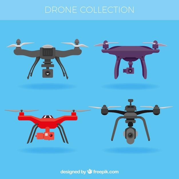 Professional variety of drones
