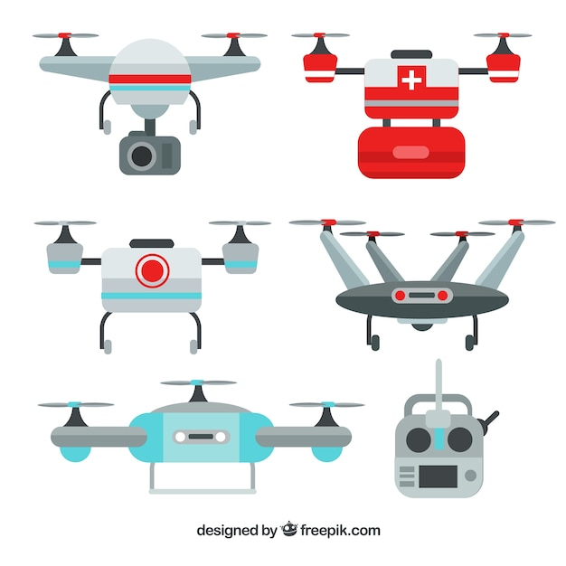 Professional variety of flat drones