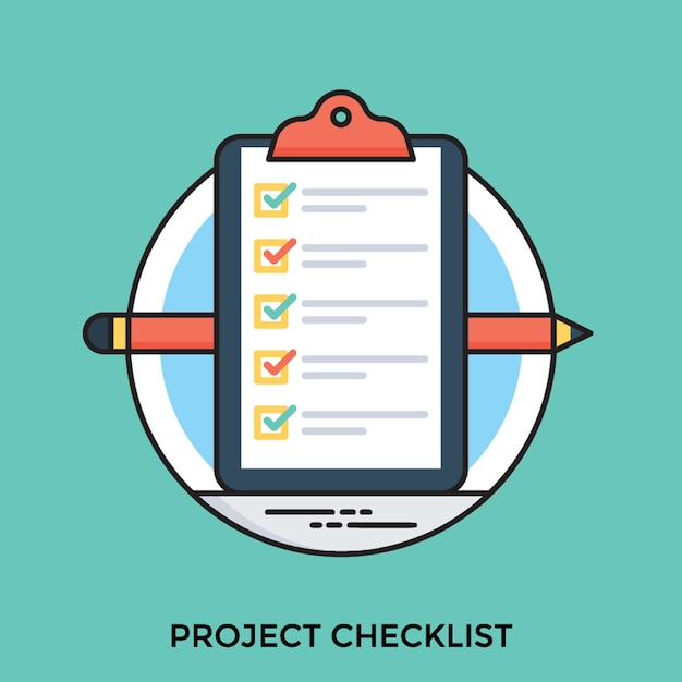Project brief Premium Vector