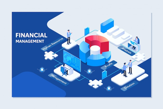 Project management Premium Vector