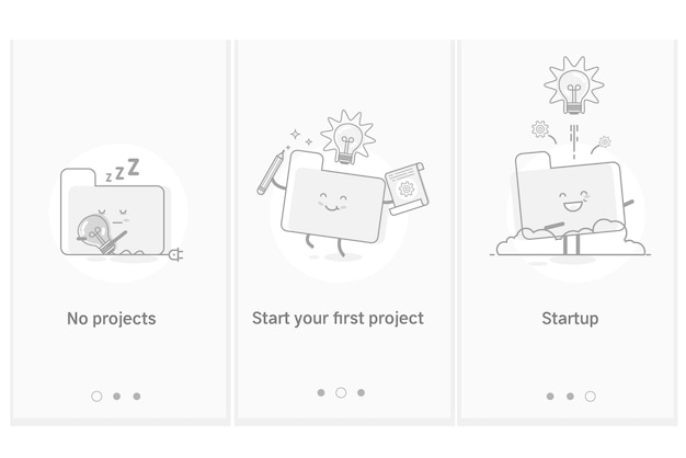 Project startup process, new products and services development from ...