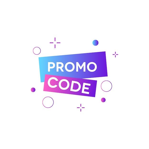 Promo code voucher Premium Vector