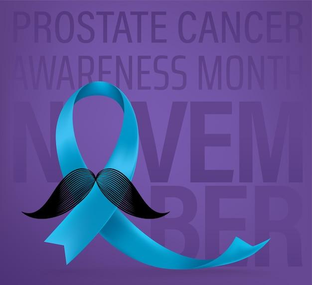前立腺がんの意識の概念 Premiumベクター