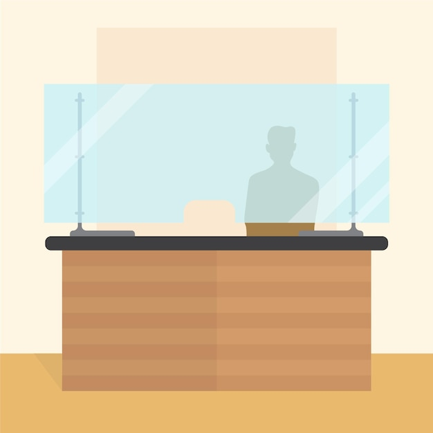 Защитное стекло для счетчиков Бесплатные векторы