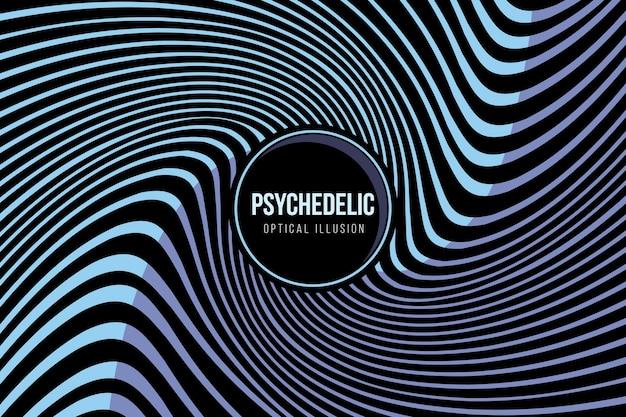 Psychedelic wallpaper Premium Vector