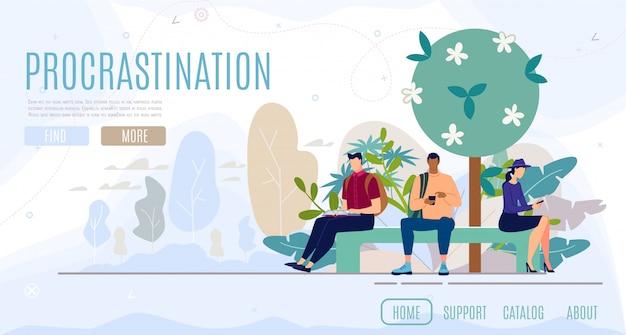 Psychological consultation flat vector web banner Premium Vector