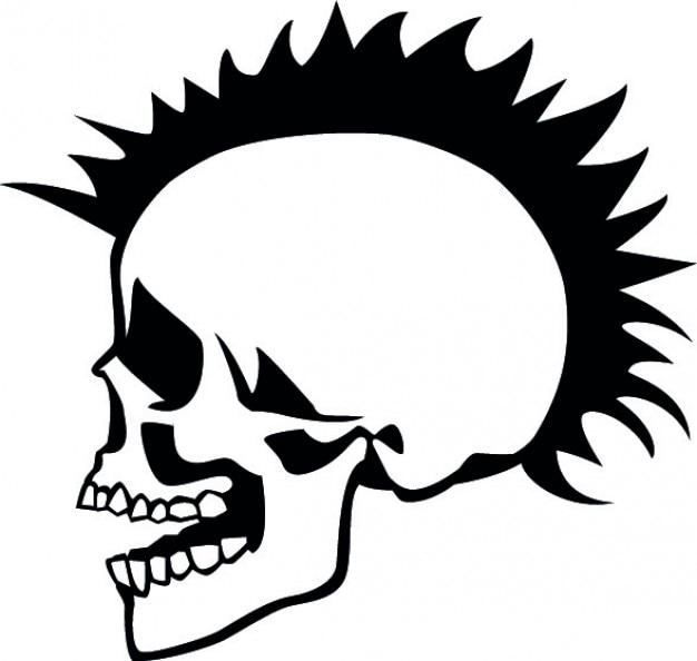 600 Gambar Tengkorak Punk Keren HD Terbaik