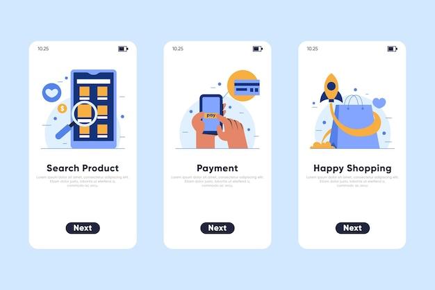 Purchase online concept Premium Vector