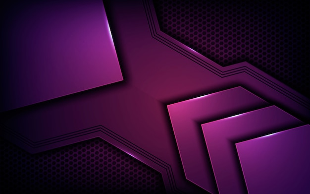 Purple abstract dimension texture background Premium Vector
