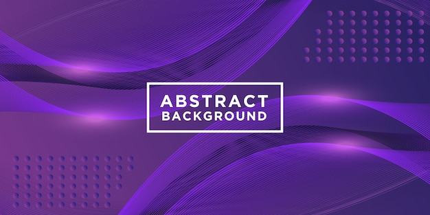 Purple background design with light effects Premium Vector