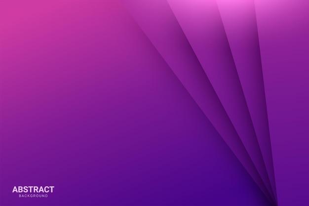 Purple background overlap purple layer on purple dark space background Premium Vector