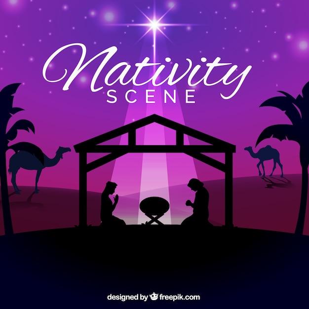nativity vector wallpaper in - photo #16