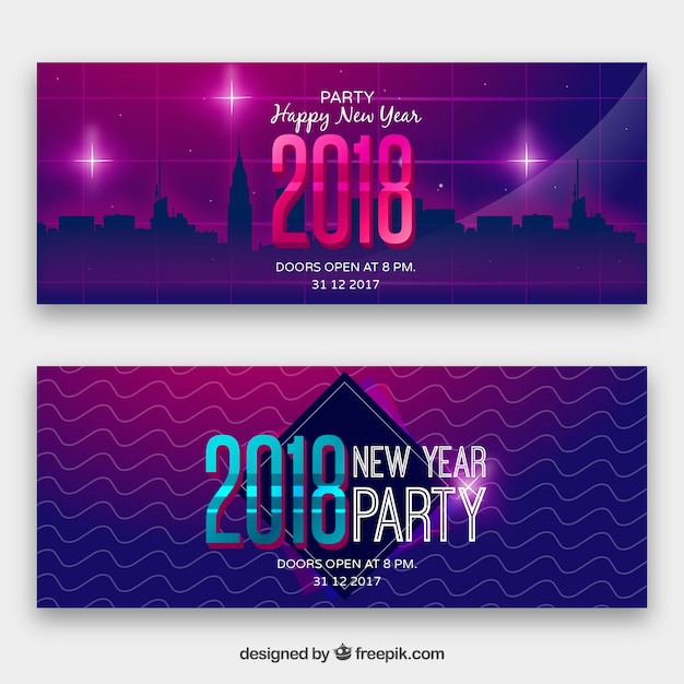 purple banners new year 2018 stock images page everypixel
