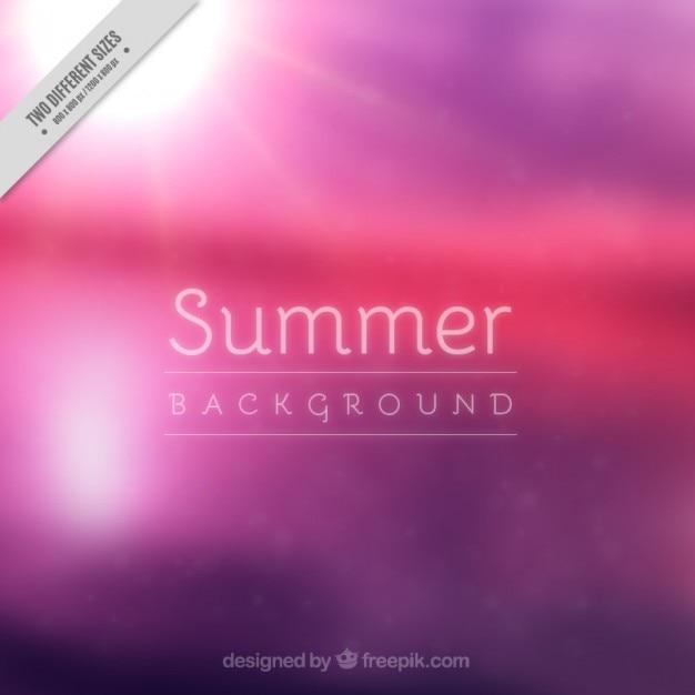 Purple blur landscape background with\ sun