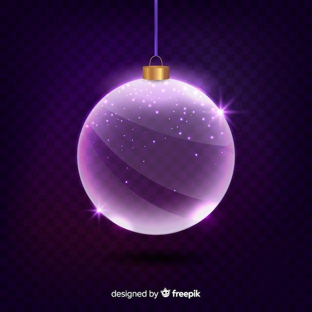 Christmas Purple.Purple Crystal Christmas Ball Vector Free Download