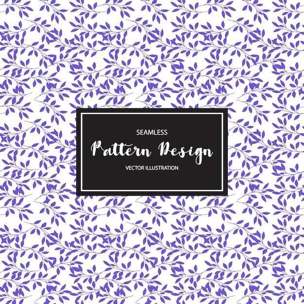 Purple leaves pattern backgorund