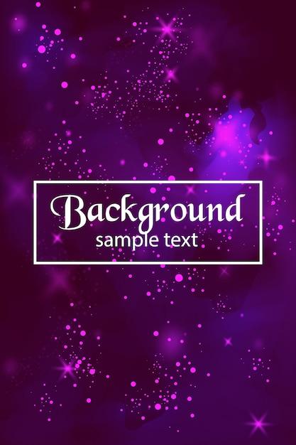 Фон фиолетового фона Premium векторы