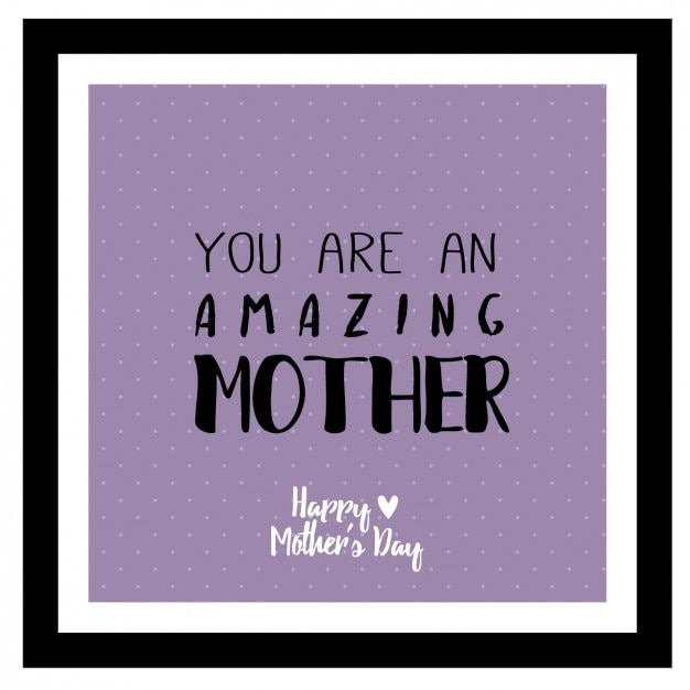 Purple mother\'s day background