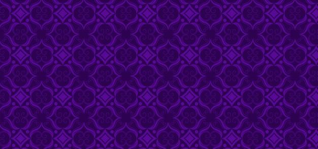 Purple ornamental vintage pattern Premium Vector