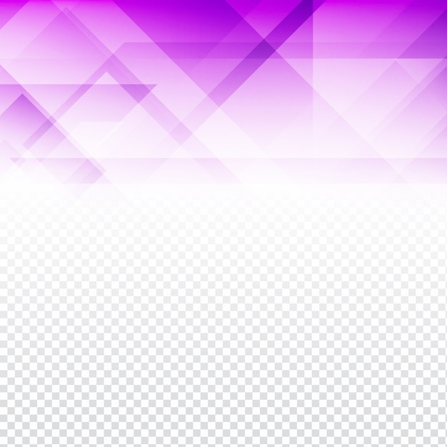 purple polygonal background with transparencies vector