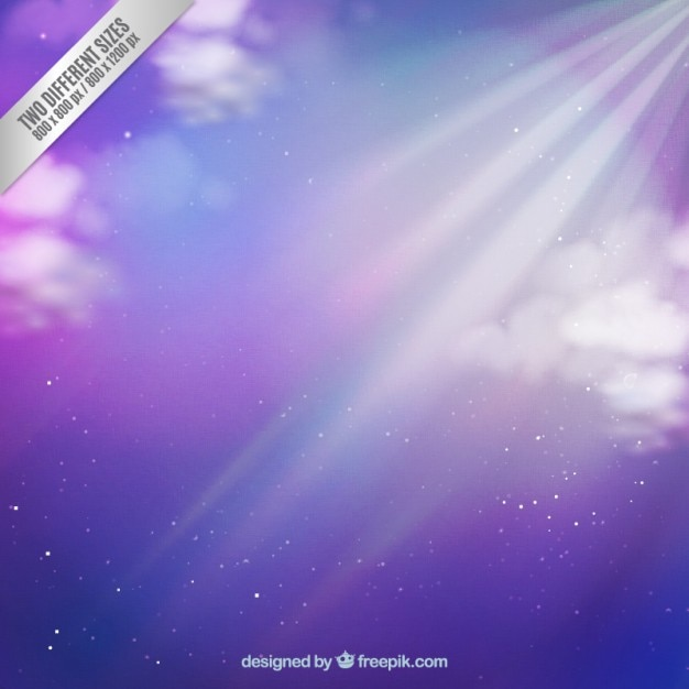 Purple sky background