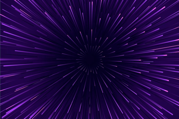 Purple speed lights background Free Vector