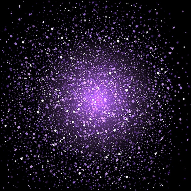 Purple star confetti background vector free download purple star confetti background free vector voltagebd Gallery