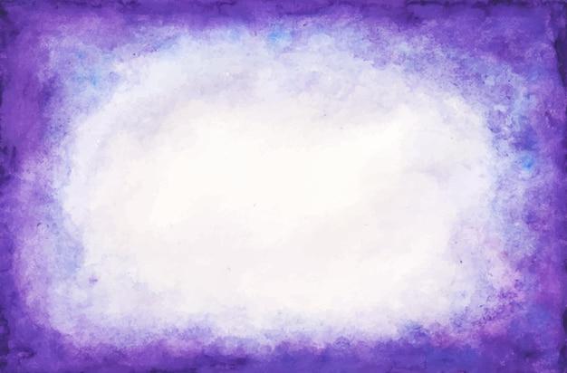 Purple watercolor background Free Vector