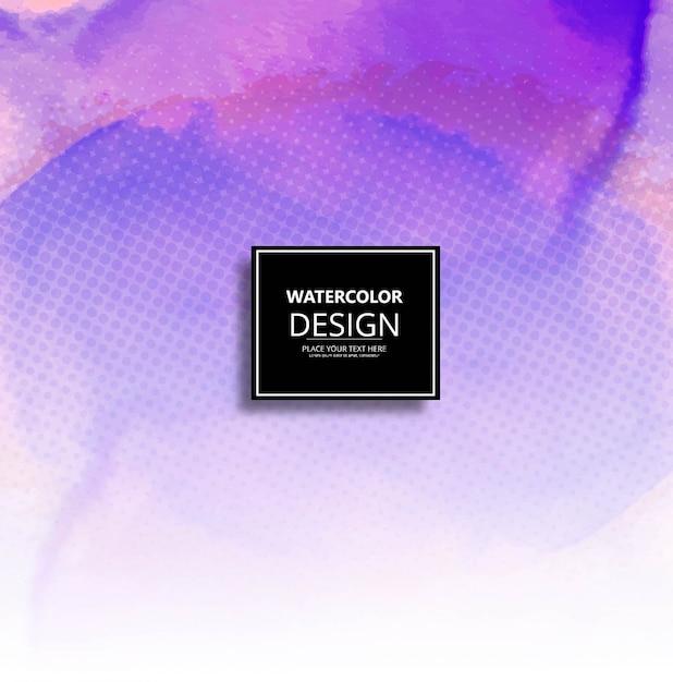 Moderno sfondo acquerello Vettore gratuito