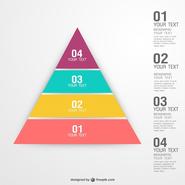 Pyramid Infographic Vectors, Photos and PSD files | Free Download