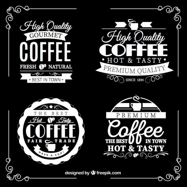Quality coffee badges