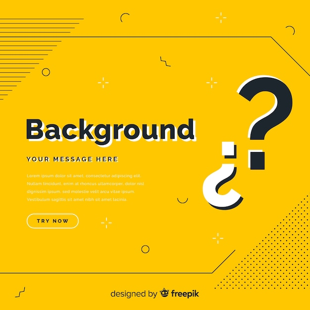 Questing background Free Vector