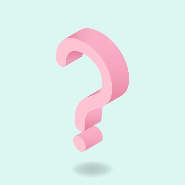 Question mark Free Vector