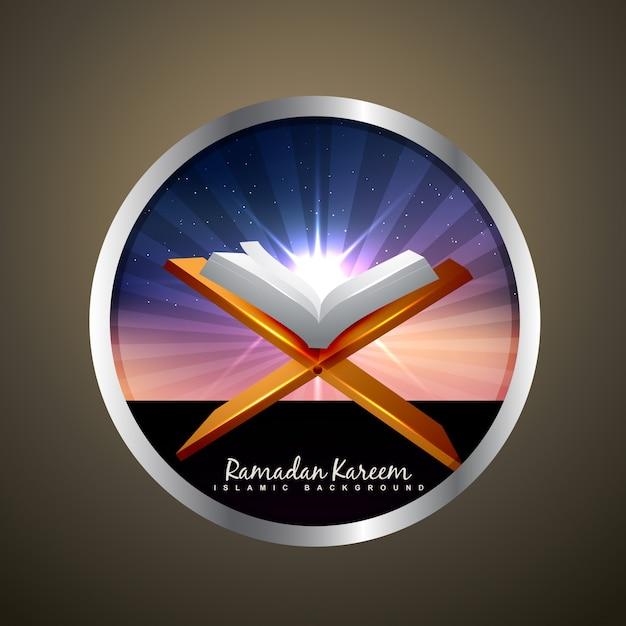 Quran design for ramadan kareem Vector | Free Download