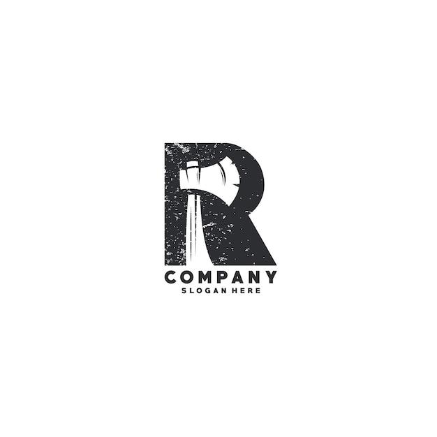 手紙rのロゴのテンプレート Premiumベクター