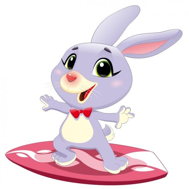 Rabbit surfing design