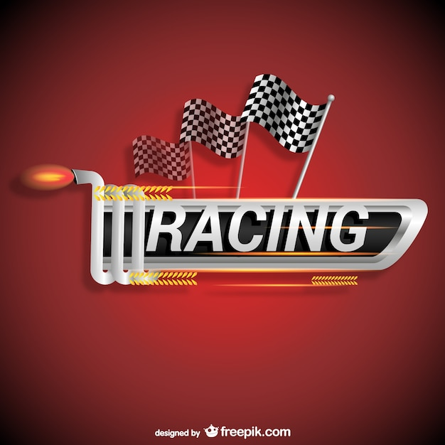 racing logo vector free download