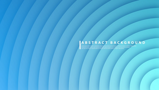 Radial circle gradient abstract background Premium Vector