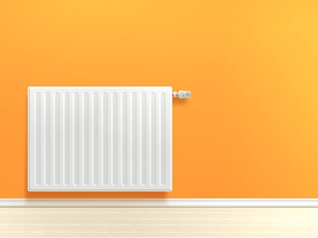 Радиатор на стене Бесплатные векторы