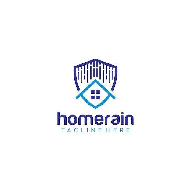 Rain logo Premium Vector